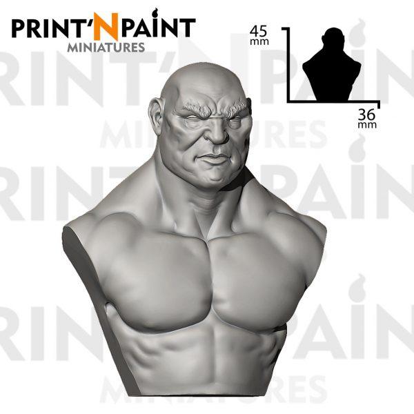 human brute academic bust