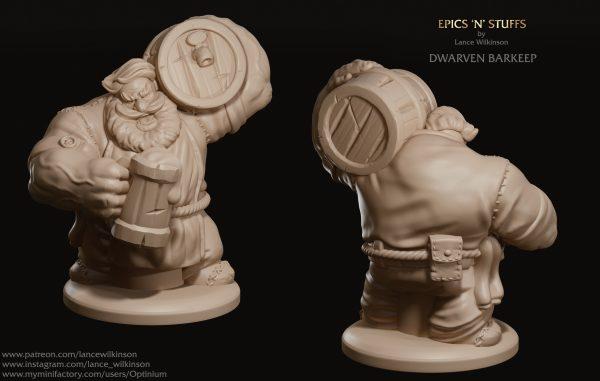 Dwarf barkeep