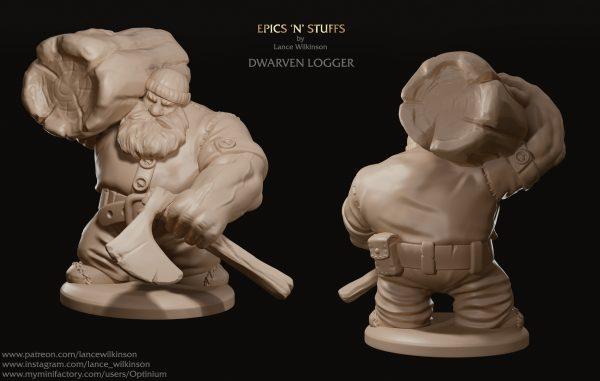 Dwarven logger