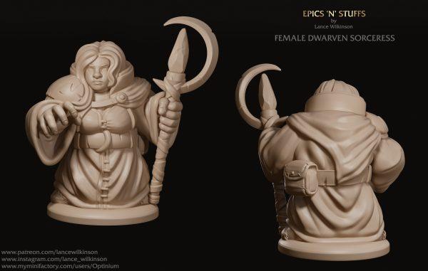 Dwarven Sorceress