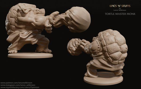 Tortle Master Monk