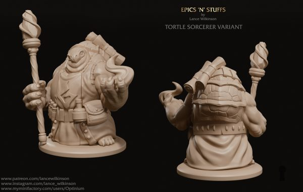 Tortle Sorcerer variant