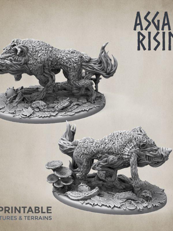 Wraith wolf ver 3