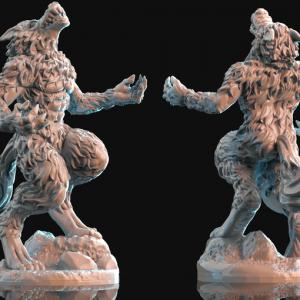 bestiary warewolf pose2