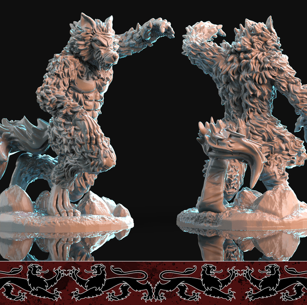 warewolf pose 3